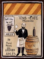 Salon De Vin Fine Art Print