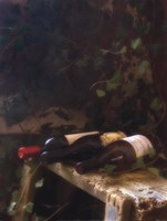 """Wine Cellar I by Donna Geissler - 18"""" x 24"""""""