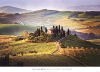 Belvedere Sunrise Tuscany Fine Art Print