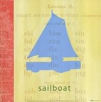 Vintage Toys Sailboat Fine Art Print