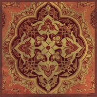 "Persian Tiles I by Paula Scaletta - 12"" x 12"""