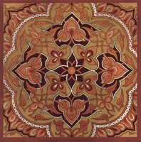 "Persian Tiles II by Paula Scaletta - 12"" x 12"""