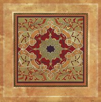 "Italian Tile V by Paula Scaletta - 12"" x 12"""