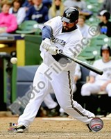 Prince Fielder 2010 Action Fine Art Print