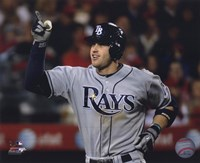 Evan Longoria 2010 Action Fine Art Print