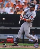 """Jason Varitek 2010 batting - 8"""" x 10"""""""