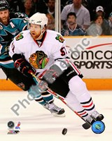 Brian Campbell 2009-10 Playoff Action Fine Art Print