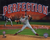 Roy Halladay Perfection Overlay Fine Art Print