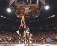 Kobe Bryant Game One of the 2009-10 NBA Finals (#2) Fine Art Print