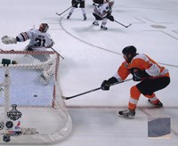 """Claude Giroux Game Four of the 2010 NHL Stanley Cup Finals Goal (#15) - 10"""" x 8"""""""