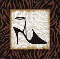 Safari Shoes II Framed Print