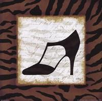 """Safari Shoes III by Mo Mullan - 10"""" x 10"""""""