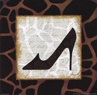 Safari Shoes IV Fine Art Print