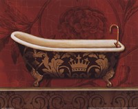 "Royal Red Bath II by Lisa Audit - 10"" x 8"""