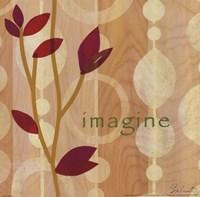 """Imagine Leaves - 10"""" x 10"""""""