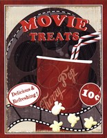 At the Movies II Framed Print