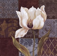 "Mosaique II by Daphne Brissonnet - 12"" x 12"", FulcrumGallery.com brand"