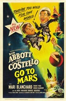 Abbott and Costello Go to Mars, c.1953 Framed Print