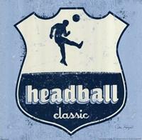 "Headball by Peter Horjus - 12"" x 12"""
