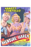 Abbott and Costello, Lost in a Harem, c.1944 Fine Art Print