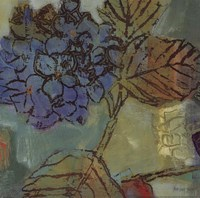 """August Blue by Snow Lady Lisa - 12"""" x 12"""""""