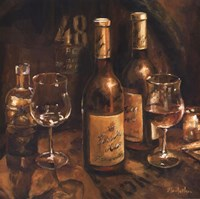 "Wine Making by Marilyn Hageman - 27"" x 27"""
