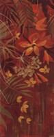 "Exotic Flowers I by Silvia Vassileva - 8"" x 20"""