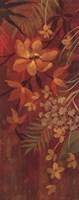 Exotic Flowers II Framed Print