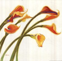 Callas in the Wind I Fine Art Print