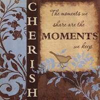 "Cherish by Jennifer Pugh - 12"" x 12"", FulcrumGallery.com brand"