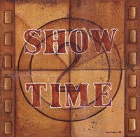 "Show Time - Film by Kim Lewis - 12"" x 12"", FulcrumGallery.com brand"