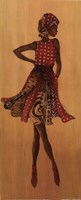 """Ebony Style I by s - 8"""" x 20"""""""