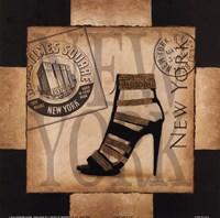 New York Style Framed Print