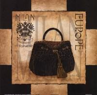 Shopping Milan Fine Art Print