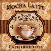 Mocha Latte Framed Print