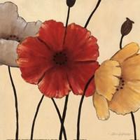 "Awaited Blooms II by Carol Robinson - 12"" x 12"""