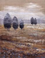 Linen Meadow I Framed Print