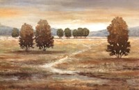 "Linen Landscape I by Nan - 36"" x 24"""