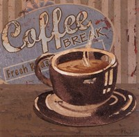 Coffee Brew Sign I - petite Fine Art Print