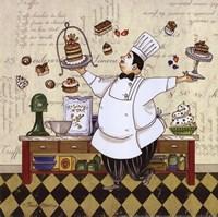 Chef Pastry Fine Art Print