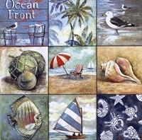 Ocean Front Framed Print