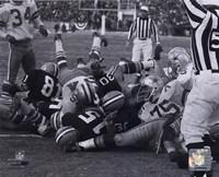 Bart Starr 1967 Ice Bowl Touchdown Framed Print