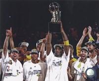 Los Angeles Lakers 2009-10 NBA Finals Team Celebration (#22) Fine Art Print