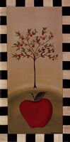 "Country Apple by Barbara Lovendahl - 5"" x 10"""
