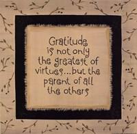 "Gratitude by Karen Tribett - 10"" x 10"""