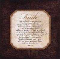 Faith - Matthew Fine Art Print