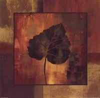 October Leaf III Framed Print