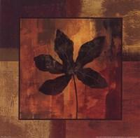 October Leaf IV Framed Print