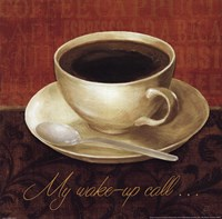 Coffee Talk II Framed Print
