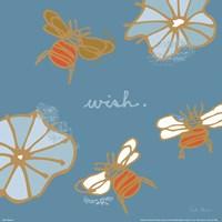 Bees II Framed Print